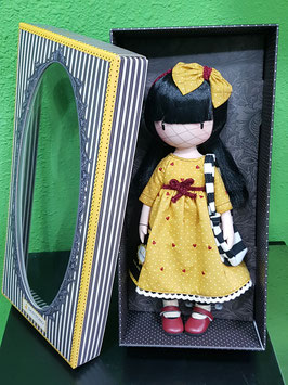 MUÑECA SANTORO GORJUSS VESTIDO AMARILLO (THE PRETEND FRIEND)