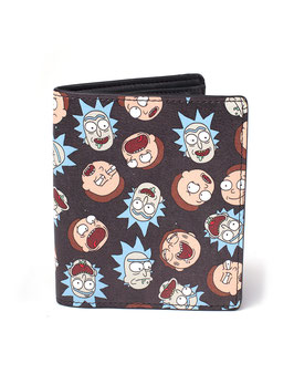 CARTERA RICK & MORTY ALL OVER PRINT