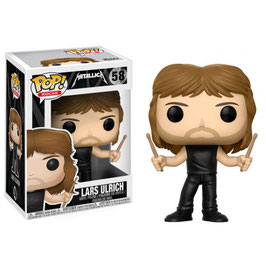 FIGURA POP! METALLICA (LARDS ULRICH)