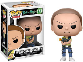 FIGURA POP! RICK Y MORTY (WEAPONIZED MORTY) nº173