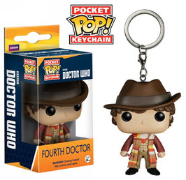 LLAVERO POCKET POP! DOCTOR WHO (FOURTH DOCTOR)