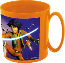 TAZA NARANJA STAR WARS REBELS