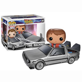 FIGURA POP! REGRESO AL FUTURO (DELOREAN CON MARTY)