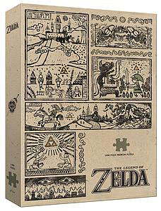 PUZZLE LEGEND OF ZELDA LEGEND OF THE HERO (1000 PIEZAS)