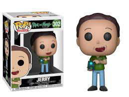 FIGURA POP! RICK Y MORTY (JERRY) Nº302