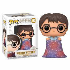 FIGURA POP! HARRY POTTER (HARRY CON CAPA) Nº112