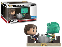 FIGURA POP! STAR WARS: MOVIE MOMENTS  (HAN SOLO AND GREEDO CANTINA)