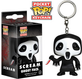 LLAVERO POCKET POP! SCREAM (GHOST FACE)