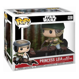 FIGURA POP! STAR WARS (PRINCESS LEIA WITH SPEEDER BIKE)