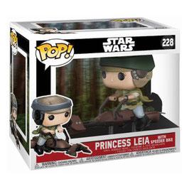 FIGURA POP! STAR WARS (PRINCESS LEIA WITH SPEEDER BIKE)