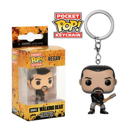 LLAVERO POCKET POP! THE WALKING DEAD (NEGAN)