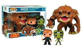 FIGURA POP! STAR WARS (RANCOR WITH LUKE SKYWALKER AND SLAVE)