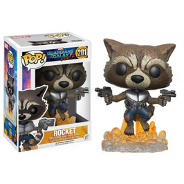 FIGURA POP! GUARDIANES DE LA GALAXIA Vol.2 (ROCKET RACCOON) nº201