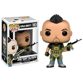 "FIGURA POP! CALL OF DUTY (JOHN ""SOAP"" MACTAVISH) Nº143"