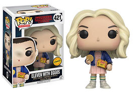 FIGURA POP! STRANGER THINGS (ELEVEN WITH EGGOS) CHASE nº421