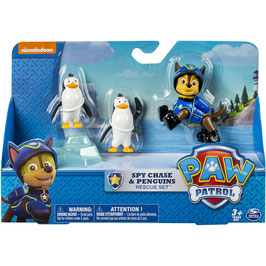 PATRULLA CANINA SPY CHASE & PENGUINS RESCUE SET
