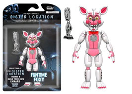 FIGURA ARTICULADA FIVE NIGHT AT FREDDY'S SISTER LOCATION (FUNTIME FOXY)