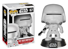 FIGURA POP! STAR WARS (FIRST ORDER SNOWTROOPER)