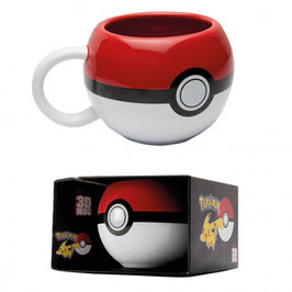 TAZA POKEMON 3D POKEBALL
