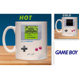 TAZA NINTENDO GAME BOY SENSITIVA AL CALOR (SUPER MARIO LAND)