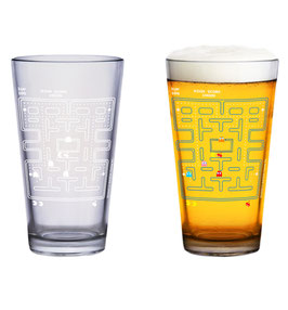 VASO PAC-MAN COLOUR PINT GLASS
