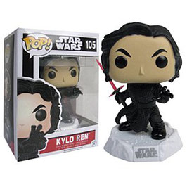 FIGURA POP! STAR WARS (KYLO REN BATTLE POSE) nº105
