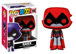 FIGURA POP! TEEN TITANS GO! RAVEN (RED LIMITED) nº108