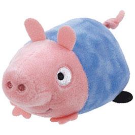 PELUCHE TEENY TY PEPPA PIG (GEORGE)