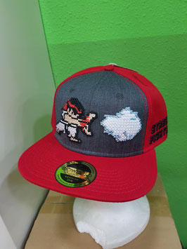 GORRA STREET FIGHTER SNAP BACK RYU BÉISBOL
