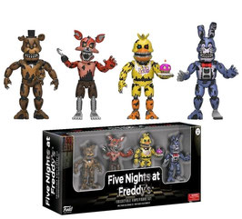PACK 4 FIGURAS - FIVE NIGHTS AT FREDDY'S (SET THREE)