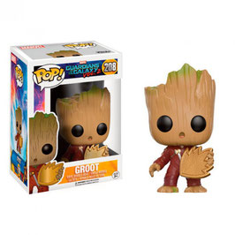 FIGURA POP! GUARDIANES DE LA GALAXIA VOL.2 (YOUNG GROOT WITH SHIELD) nº208