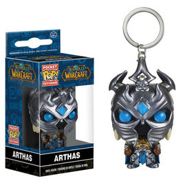 LLAVERO POCKET POP! WORLD OF WARCRAFT (ARTHAS)