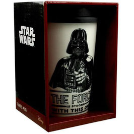 TAZA DE VIAJE STAR WARS DARTH VADER (THE FORCE IS STRONG)