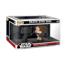 FIGURA POP! STAR WARS PACK 2 FIGURAS MOVIE MOMENTS (DEATH STAR DUEL) nº225