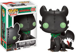 FIGURA POP! COMO ENTRENAR A TU DRAGON (HOLIDAY TOOTHLESS) nº232