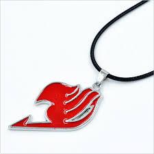 Colgante Fairy Tail (Símbolo Rojo)