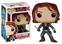 FIGURA POP! CAPITAN AMERICA (BLACK WIDOW) Nº91