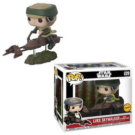 FIGURA POP! STAR WARS (LUKE SKYWALKER WITH SPEEDER BIKE CHASE)