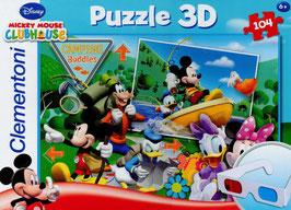 MICKEY MOUSE PUZZLE 3D - 104 PIEZAS