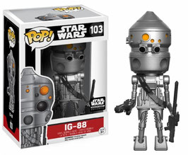 FIGURA POP! STAR WARS (IG-88) nº103