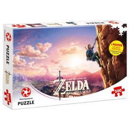 PUZZLE ZELDA BREATH OF THE WILD 500 PIEZAS