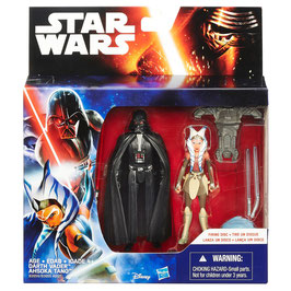 STAR WARS THE FORCE AWAKENS - DARTH VADER-AHSOKA TANO