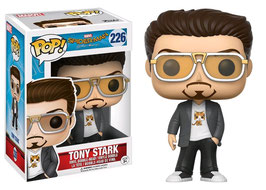 FIGURA POP! SPIDER-MAN HOMECOMING (TONY STARK) nº226