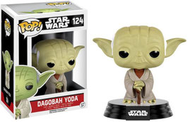 FIGURA POP! STAR WARS (DAGOBAH YODA) nº124