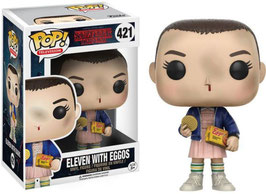 FIGURA POP! STRANGER THINGS (ELEVEN WITH EGGOS) nº421