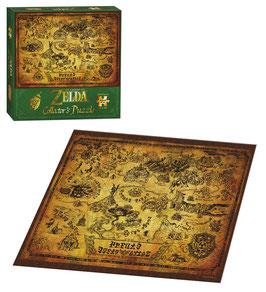 PUZZLE LEGEND OF ZELDA HYRULE MAP (CAJA VERDE) 550 piezas