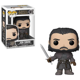 FIGURA POP! JUEGO DE TRONOS (JON SNOW BEYOND THE WALL) nº61