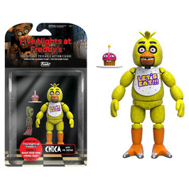 FIGURA ARTICULADA FIVE NIGHTS AT FREDDY'S (CHICA WITH MR. CUPCAKE)