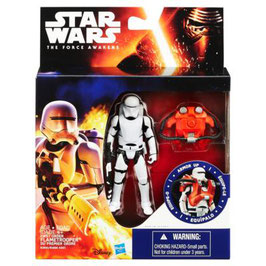STAR WARS THE FORCE AWAKENS - FIRST ORDER FLAMETROOPER