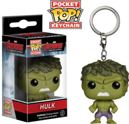 LLAVERO POCKET POP! MARVEL (HULK)